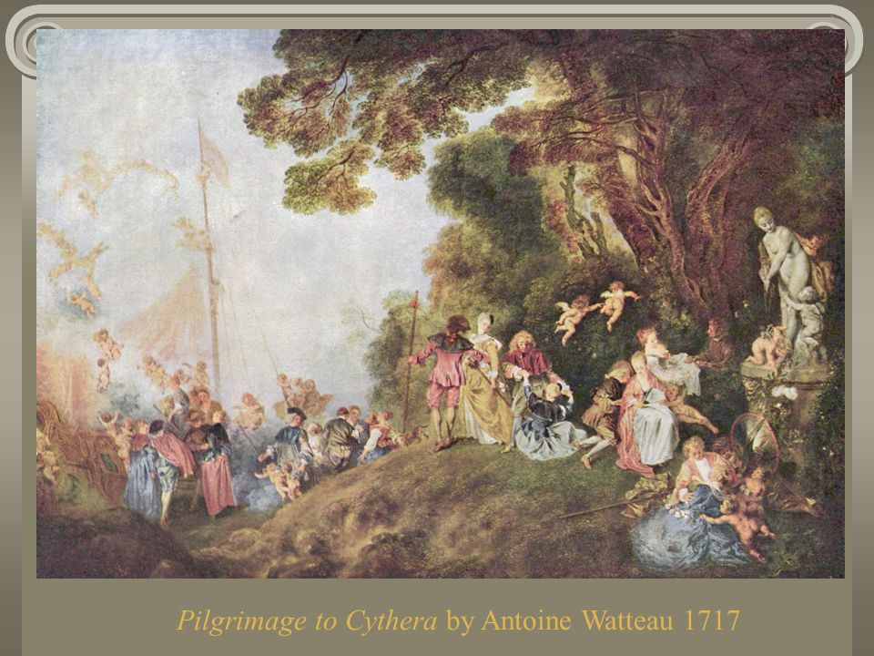 Pilgrimage to Cythera by Antoine Watteau 1717