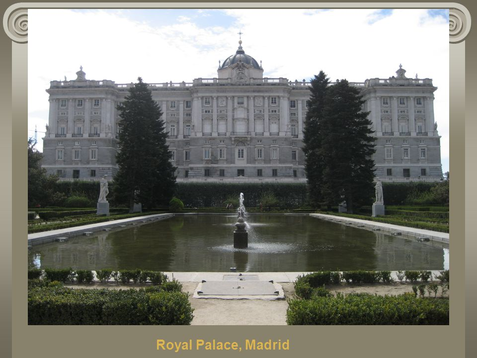 Royal Palace, Madrid