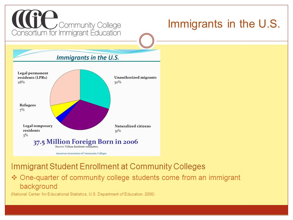 Immigrants in the U.S.