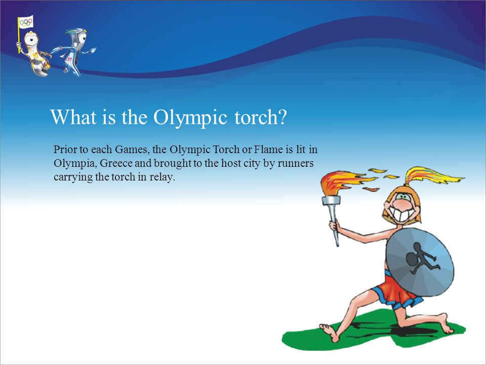 What is the Olympic torch.