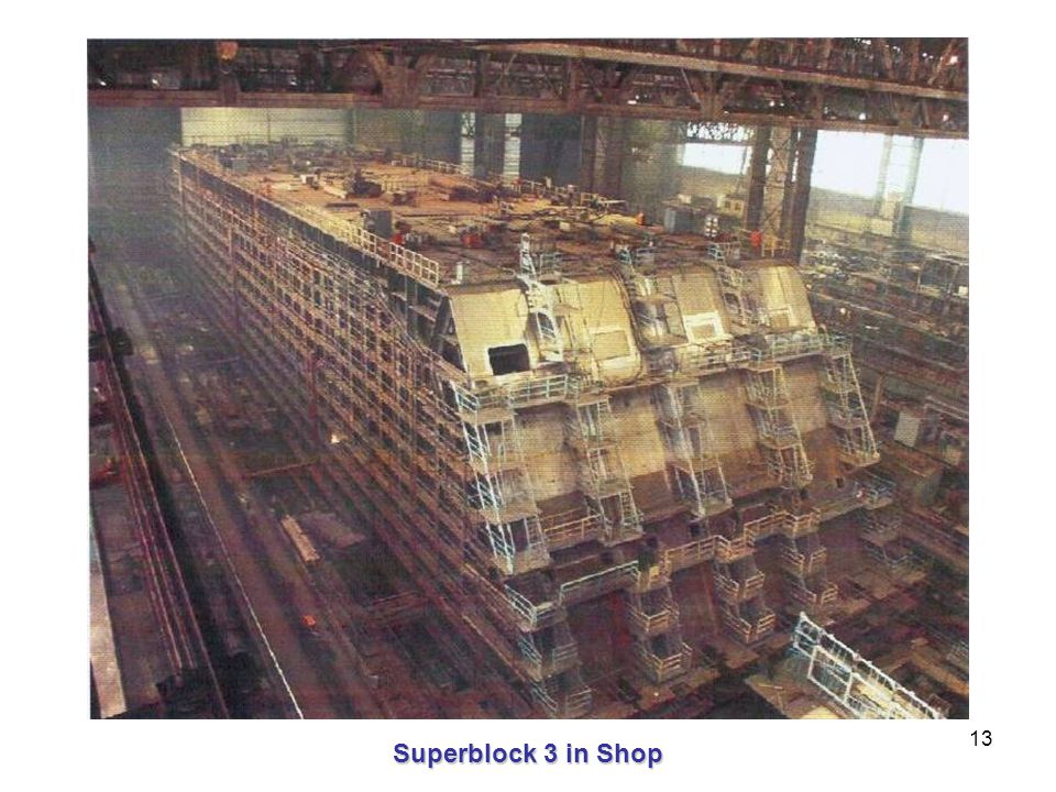 13 Superblock 3 in Shop
