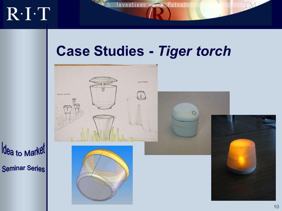 10 Case Studies - Tiger torch