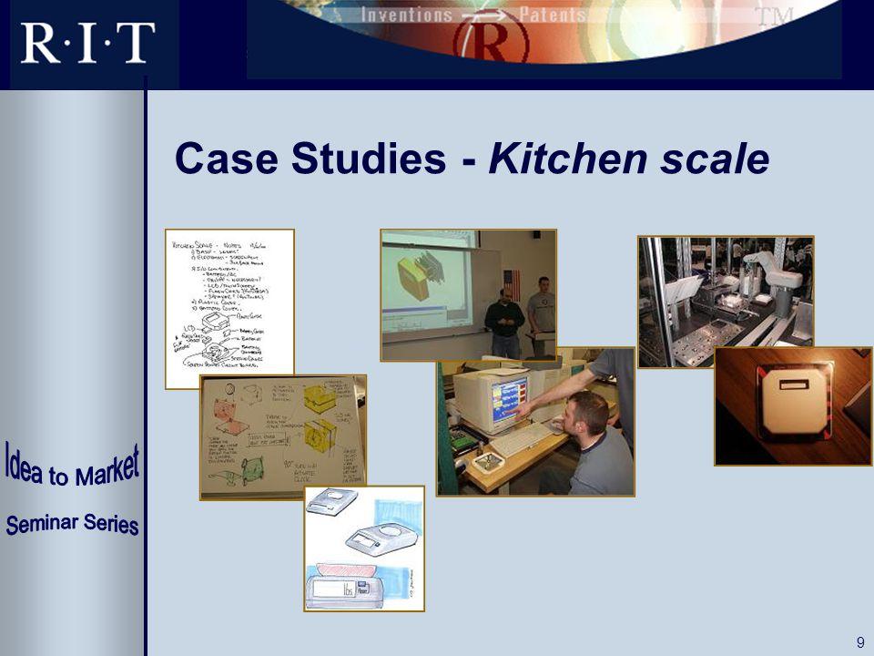 9 Case Studies - Kitchen scale
