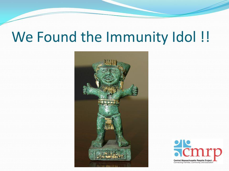 We Found the Immunity Idol !!