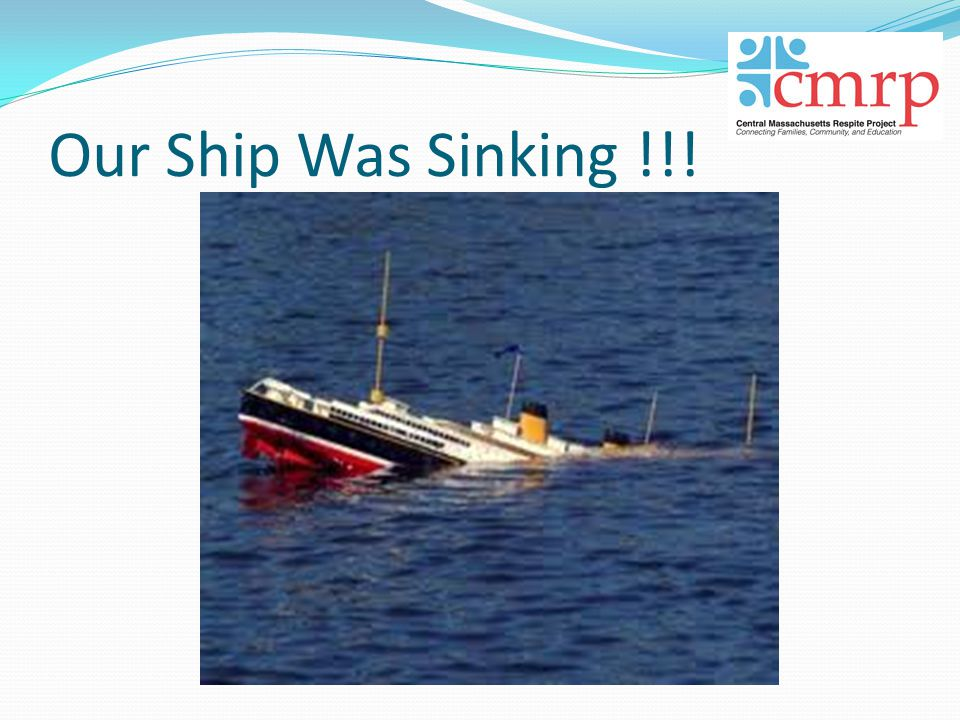 Our Ship Was Sinking !!!