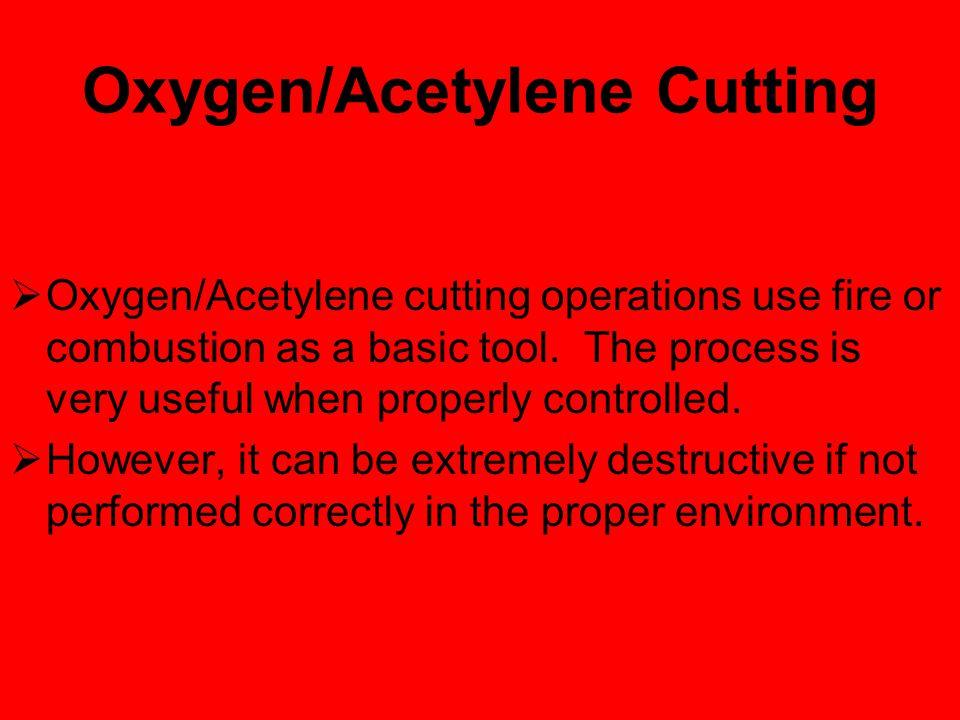 Oxygen/Acetylene Cutting Guidelines