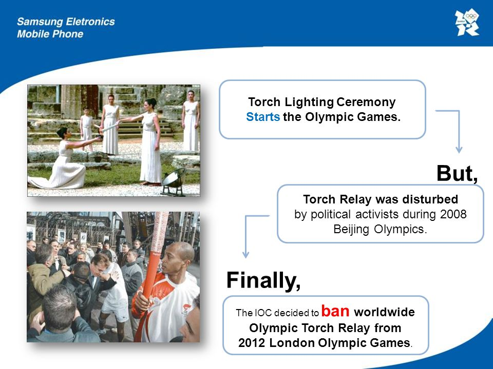 Then, how can the worldwide Torch Relay be revived .