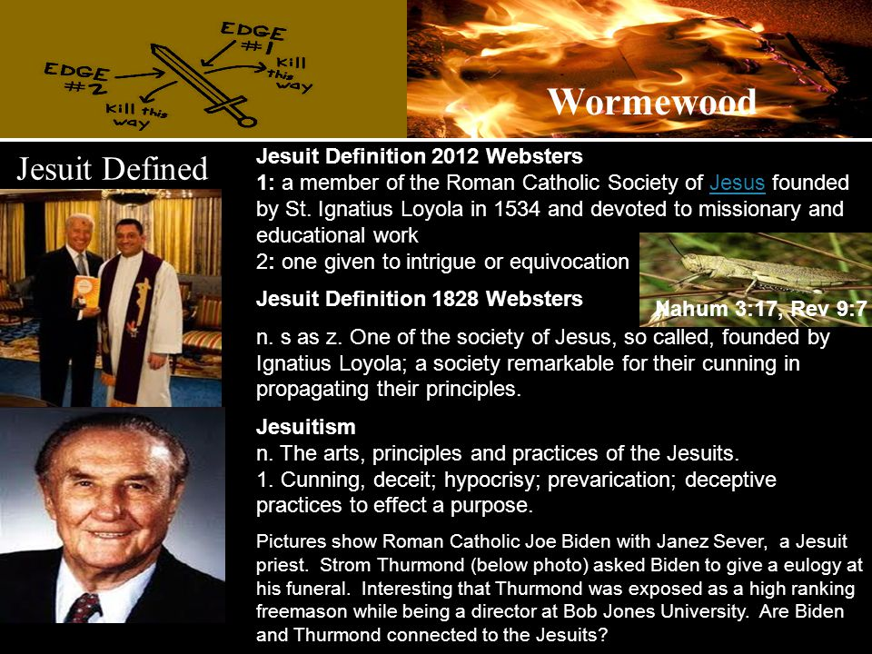 Jesuit Defined Jesuit Definition 2012 Websters 1: a member of the Roman Catholic Society of Jesus founded by St.