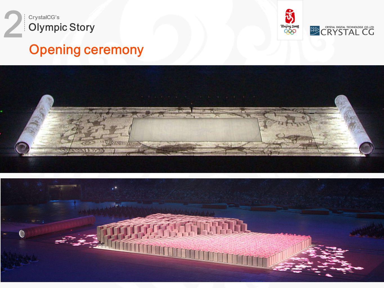 Opening ceremony CrystalCG's Olympic Story 2