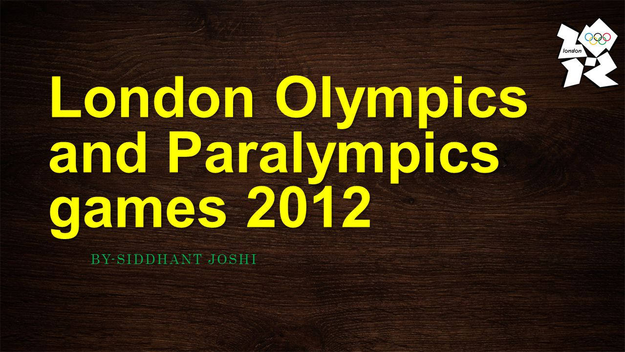 WHAT IS LONDON OYMPICS??.