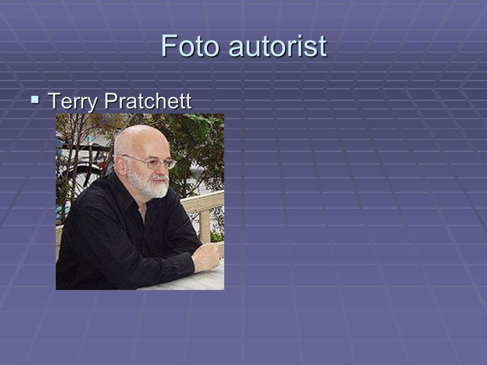 Foto autorist  Terry Pratchett