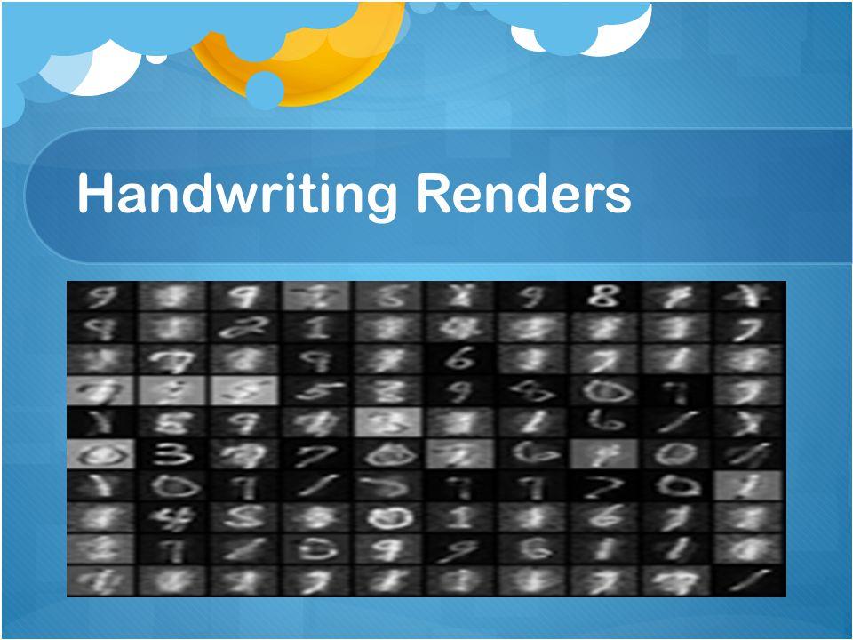 Handwriting Renders