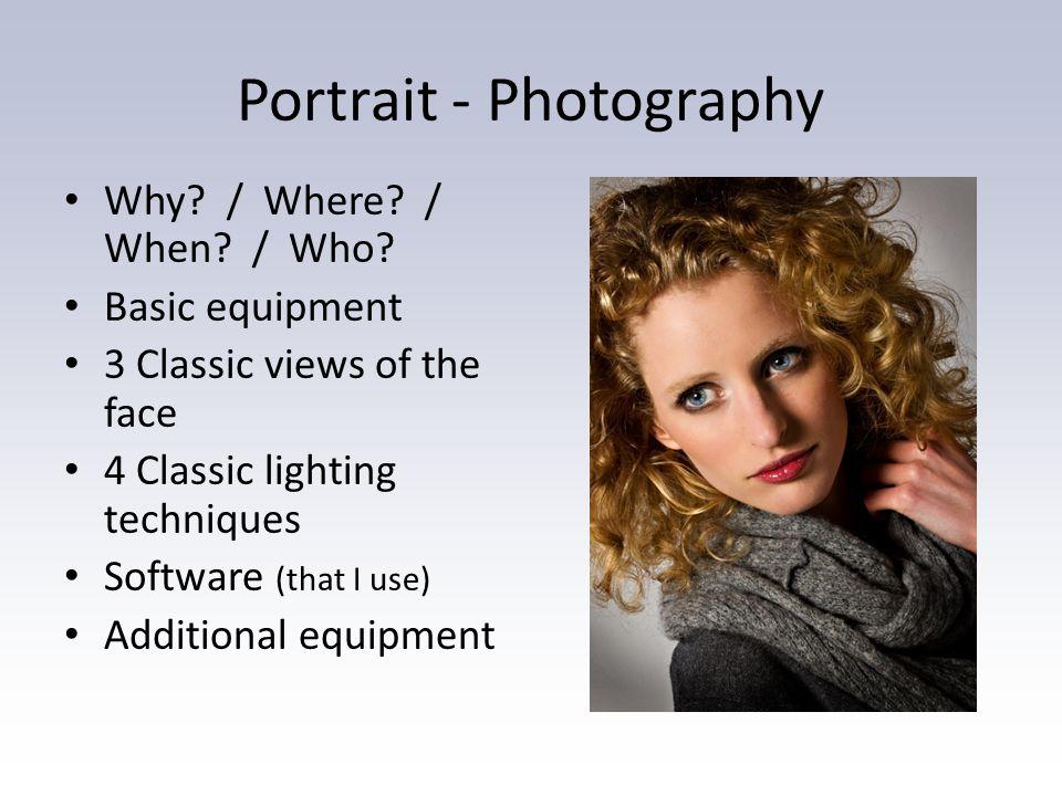 Portraiture (the basics)