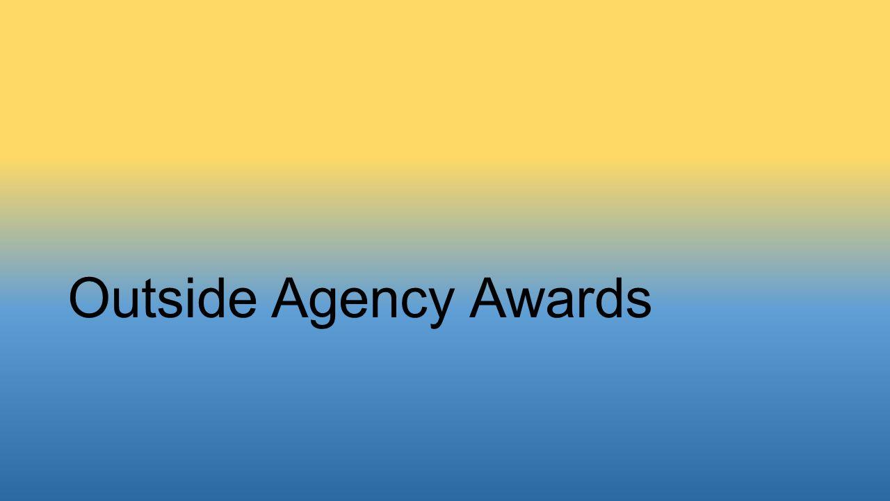 Outside Agency Awards