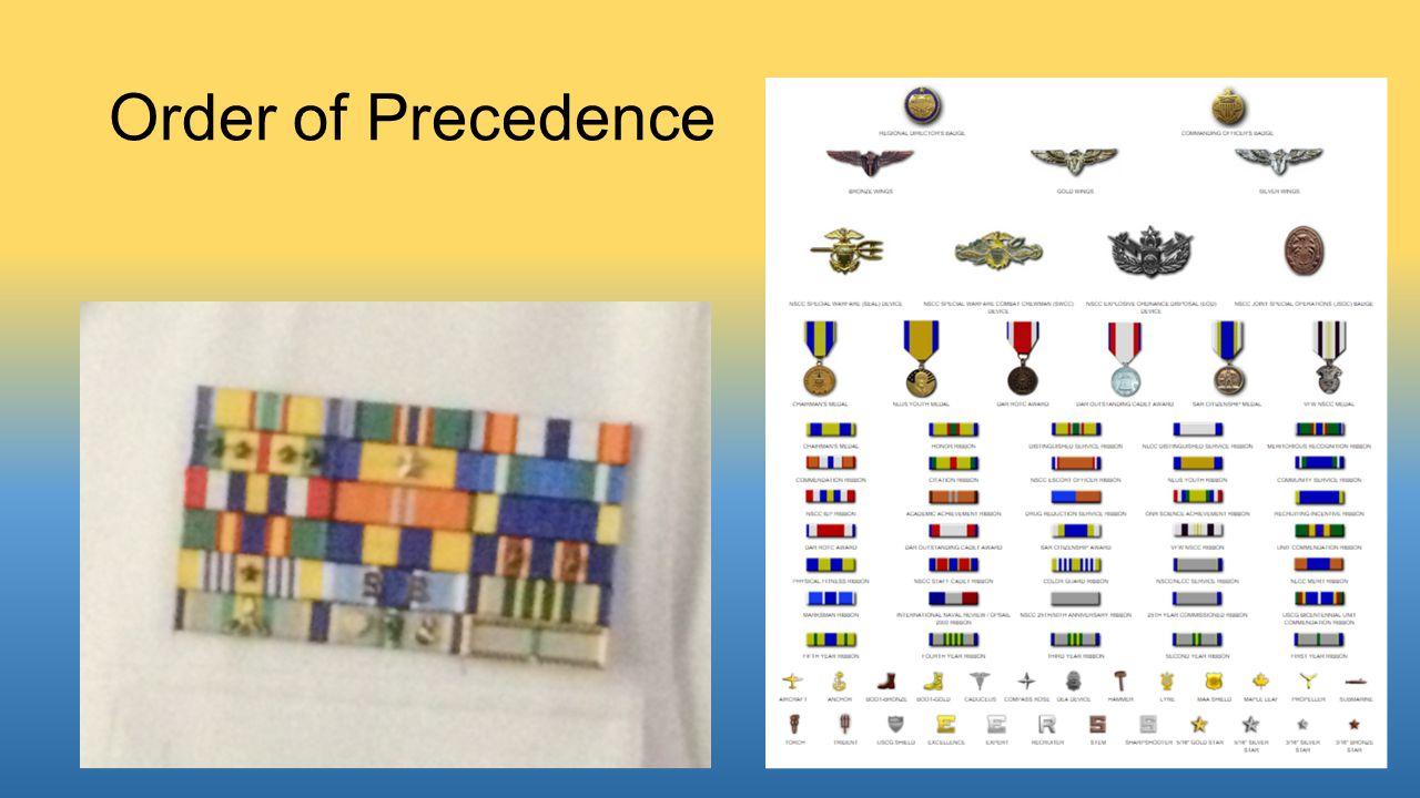 Order of Precedence