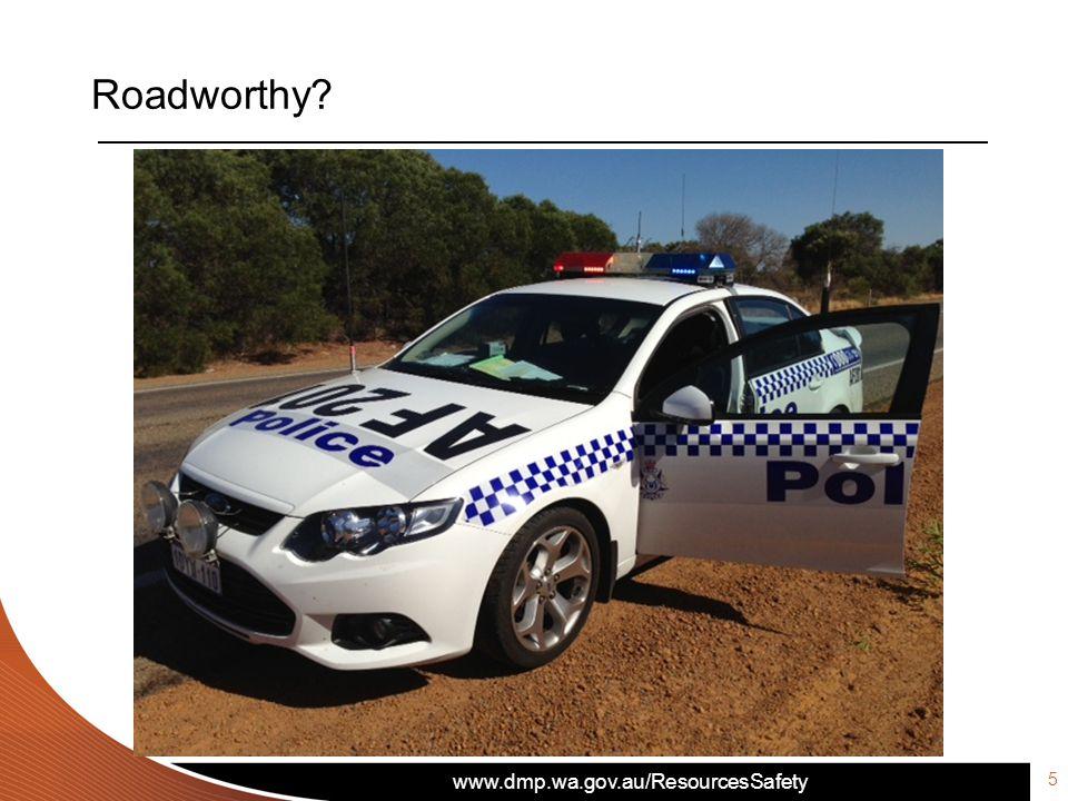 5 Roadworthy?