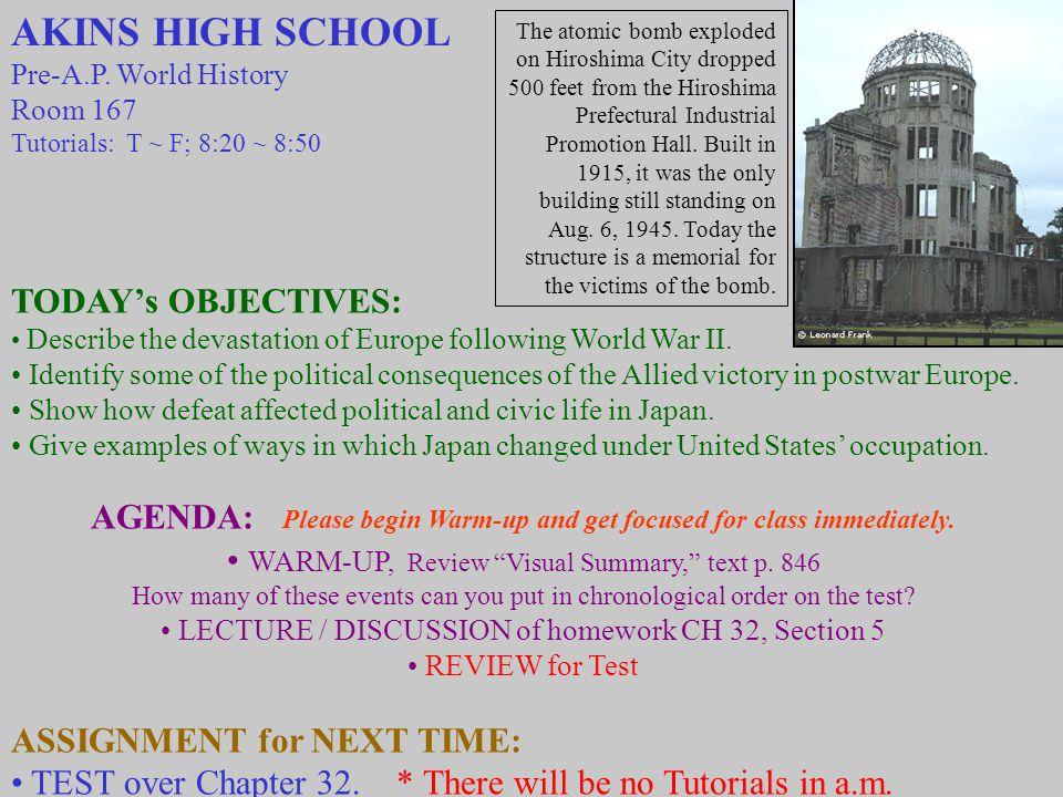 AKINS HIGH SCHOOL Pre-A.P.