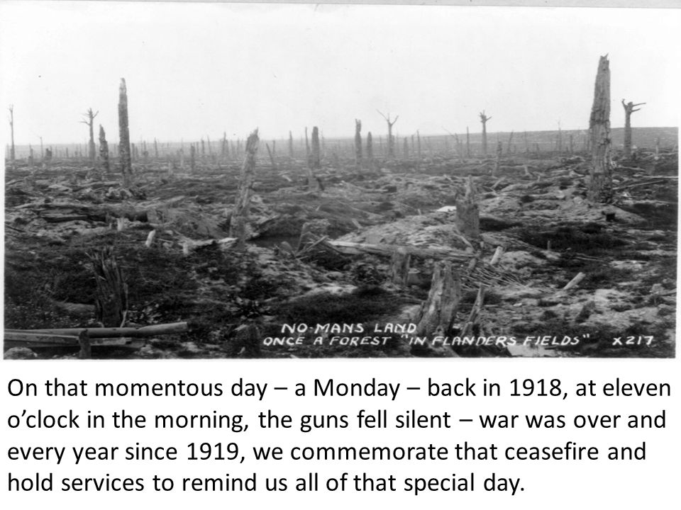 On the first Remembrance Day in 1919, people gathered in the streets in cities, towns and villages to join together in remembering all those that they had lost in the Great War.