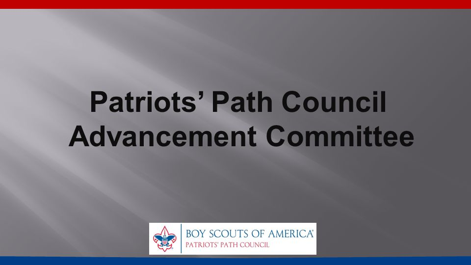 Patriots' Path Council Advancement Committee