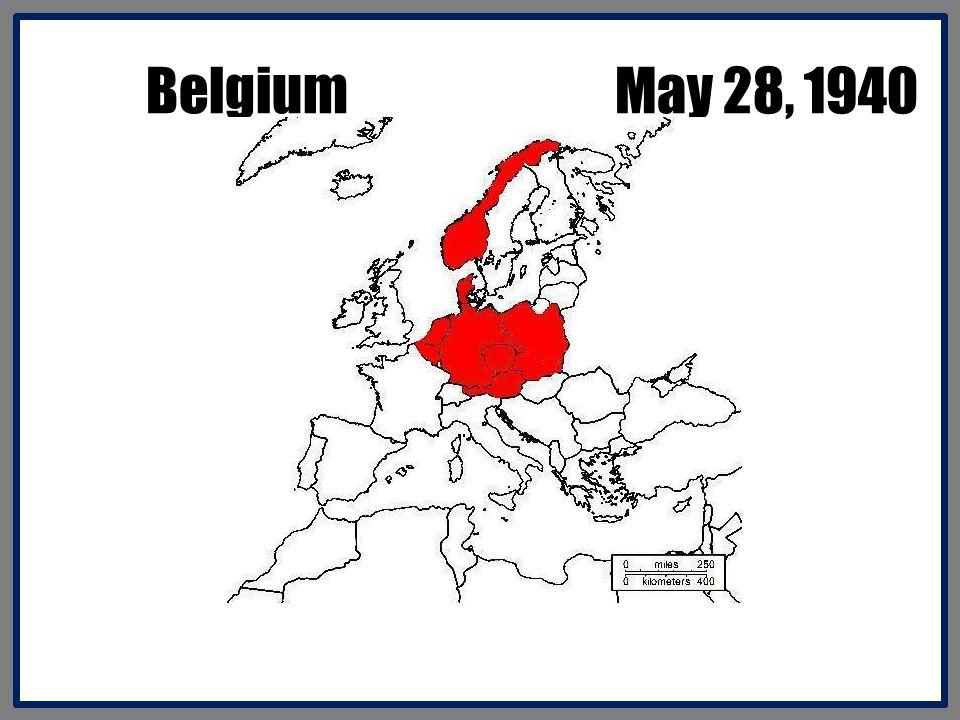 Belgium May 28, 1940