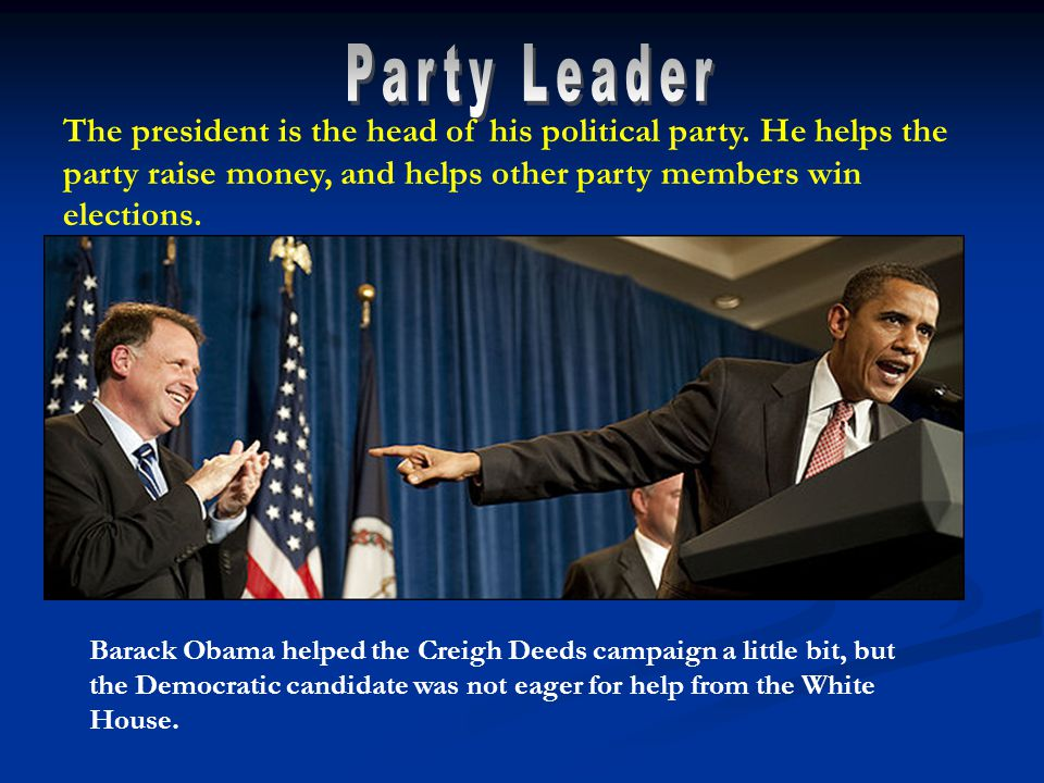 Barack Obama helped the Creigh Deeds campaign a little bit, but the Democratic candidate was not eager for help from the White House.