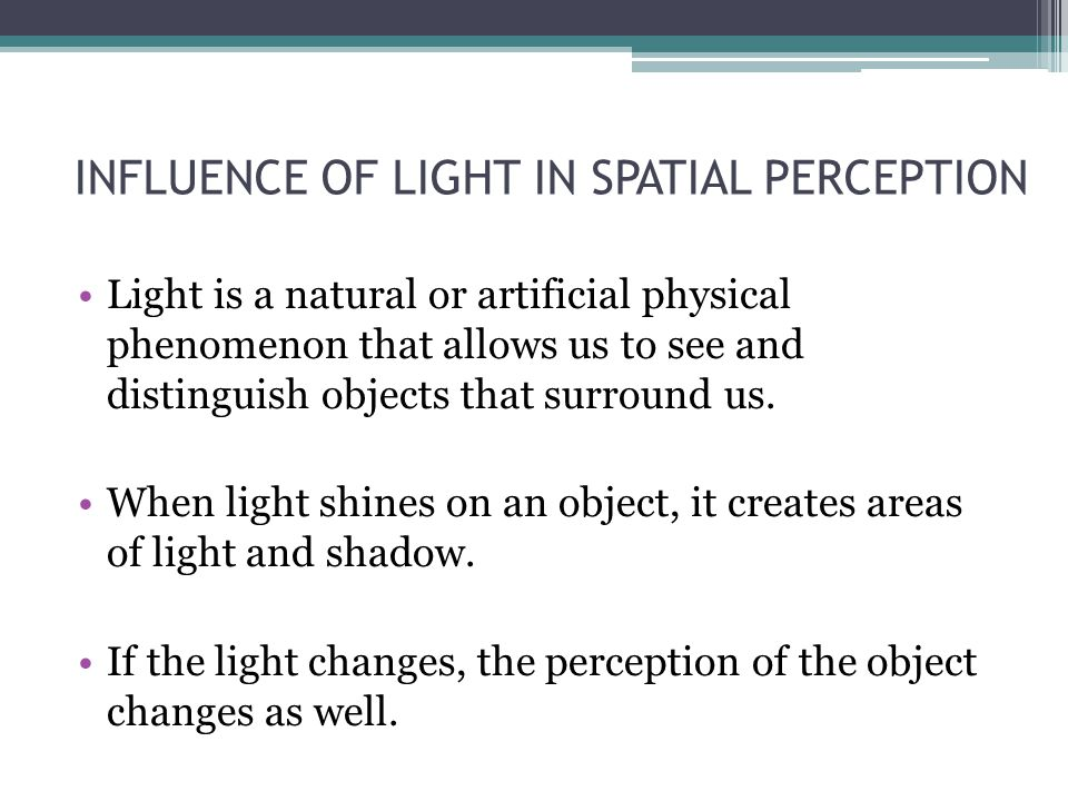 How would you represent the light on an object, for example, on a cone?