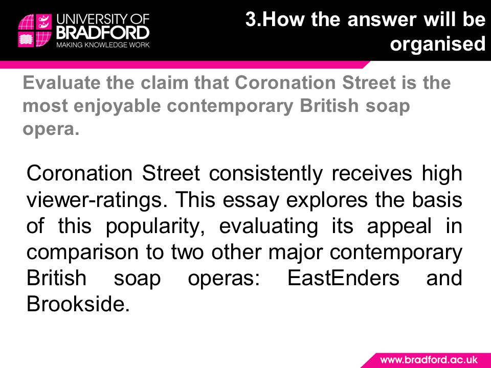 Evaluate the claim that Coronation Street is the most enjoyable contemporary British soap opera.