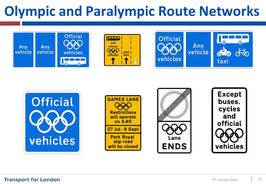 TfL Games Team Olympic and Paralympic Route Networks 10