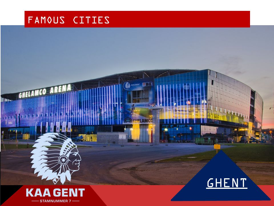 FAMOUS CITIES GHENT