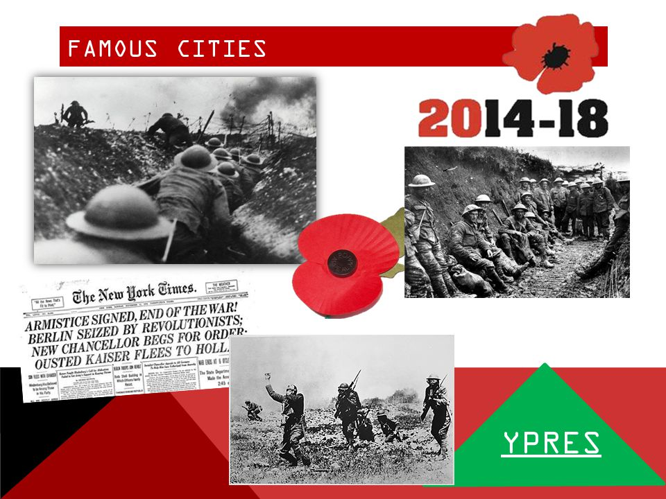 FAMOUS CITIES YPRES