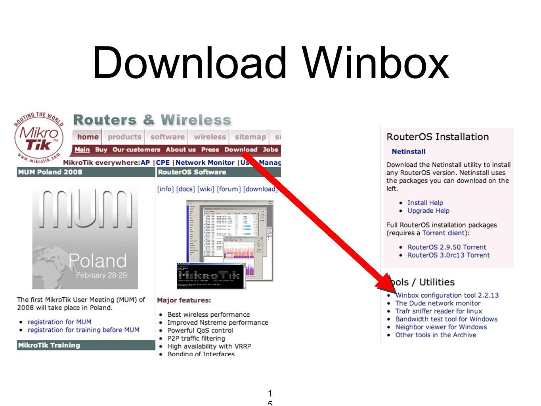 Download Winbox 15