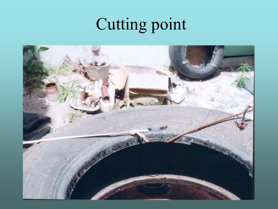 Cutting point