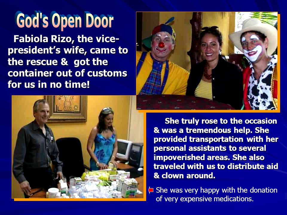 She truly rose to the occasion & was a tremendous help.