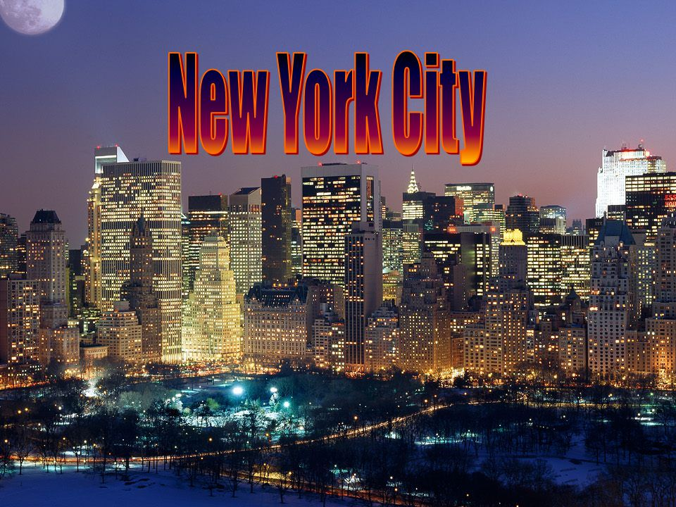 New York City is one of the largest cities in the world.