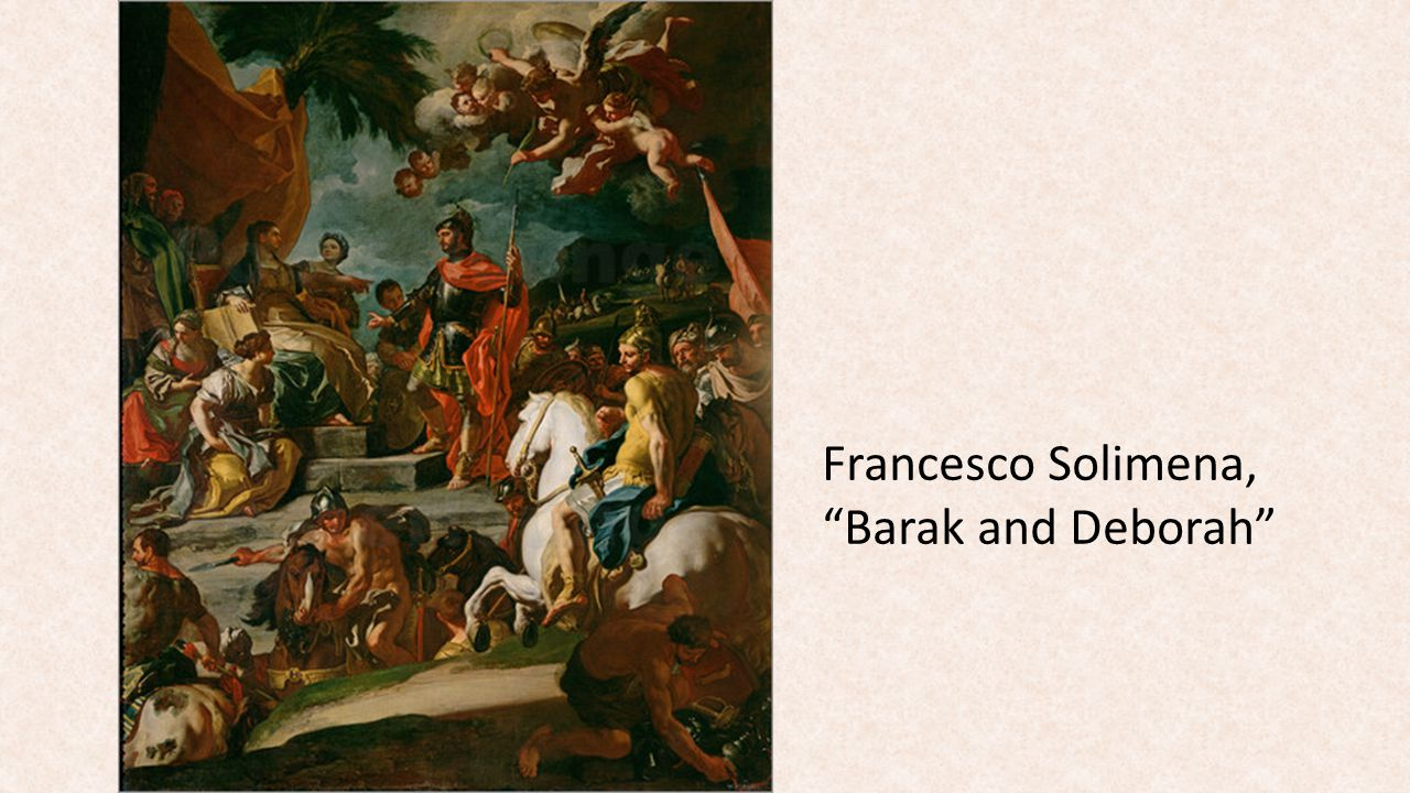 Francesco Solimena, Barak and Deborah