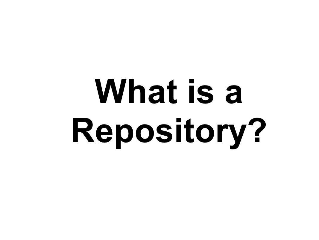 What is a Repository