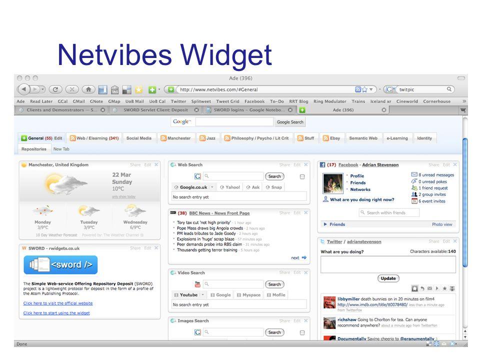 Netvibes Widget