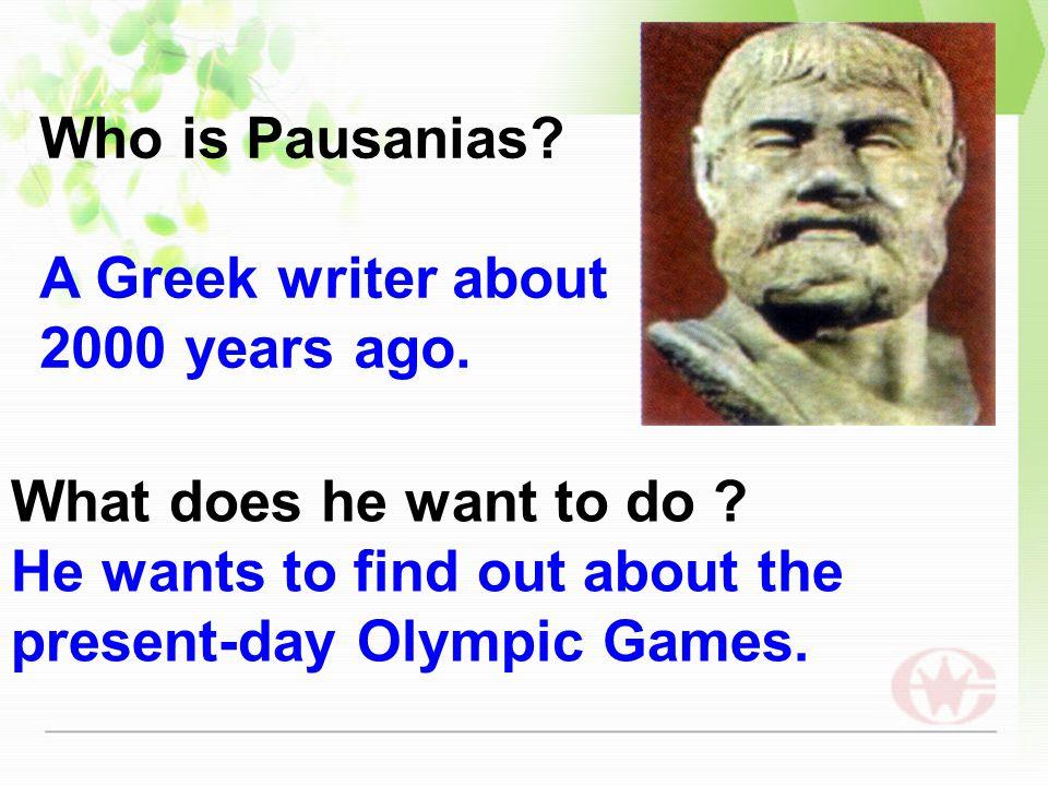 Pre-reading AN INTERVIEW interviewerinterviewee PausaniasLi yan