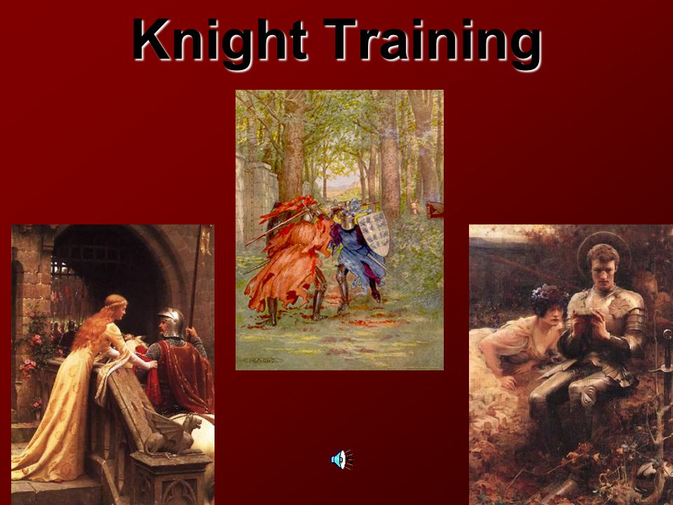 Knight  Mounted warrior  Man of rank, or in service of a man of rank  Generally possesses some independent means of support, but relies on the gratitude of those he has served Knights errant -- wandering knights who traveled the country in quest of adventure