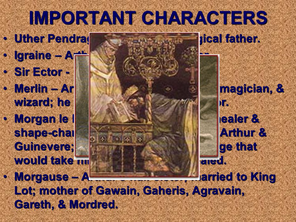 History of Arthur Celtic mythology Romantic themes +Fairylike elements ____________________ Arthurian Legend