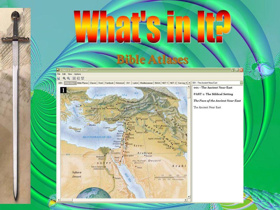 Bible Atlases