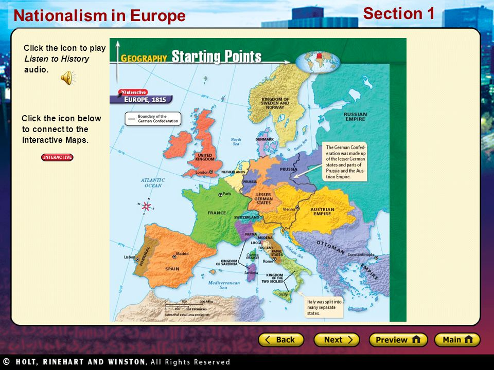 Nationalism in europe section 1 nationalism in europe section 1 nationalism in europe section 1 click the icon to play listen to history audio gumiabroncs Choice Image