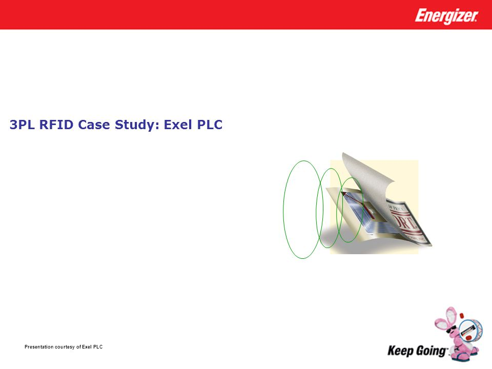 3PL RFID Case Study: Exel PLC Presentation courtesy of Exel PLC