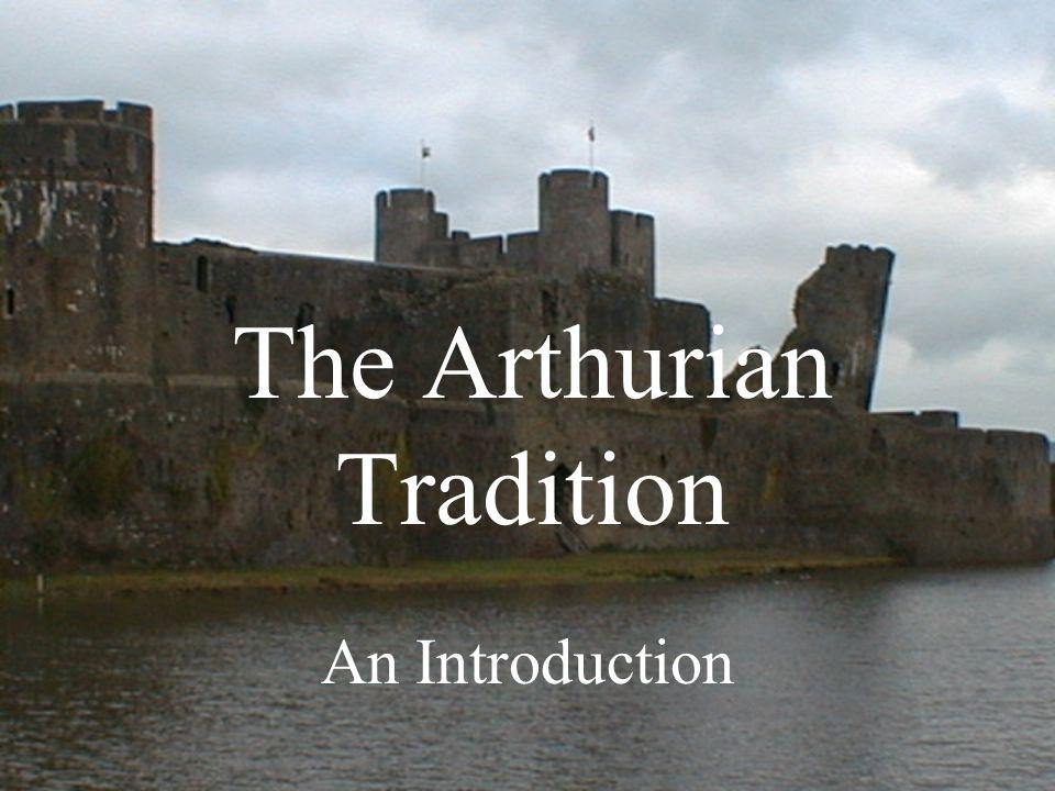 Arthur's Popularity Growing popularity –Since Geoffrey of Monmouth's Historia regum Britanniae (1135) –Popularity has grown –Literature in English French German Italian Yiddish