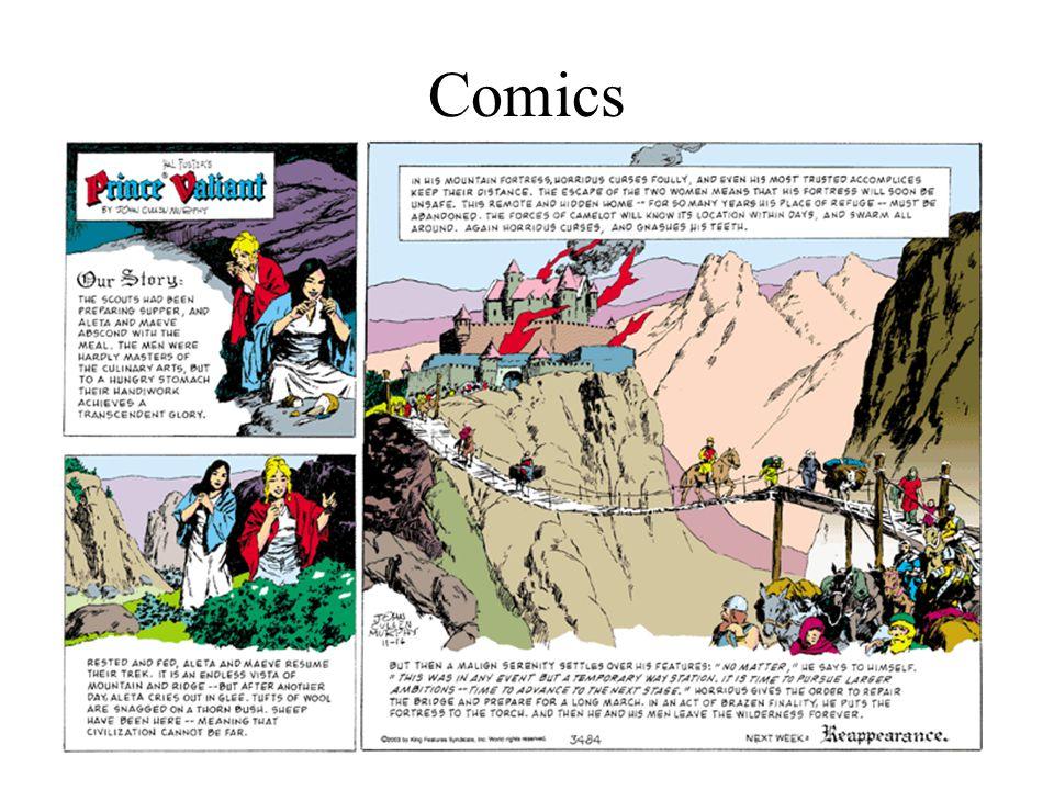 Classic Comics Prince Valiant –Debut in Feb.
