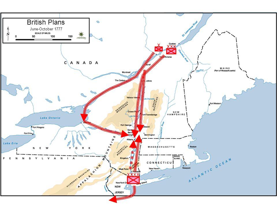 The American Revolution Saratoga - 1777