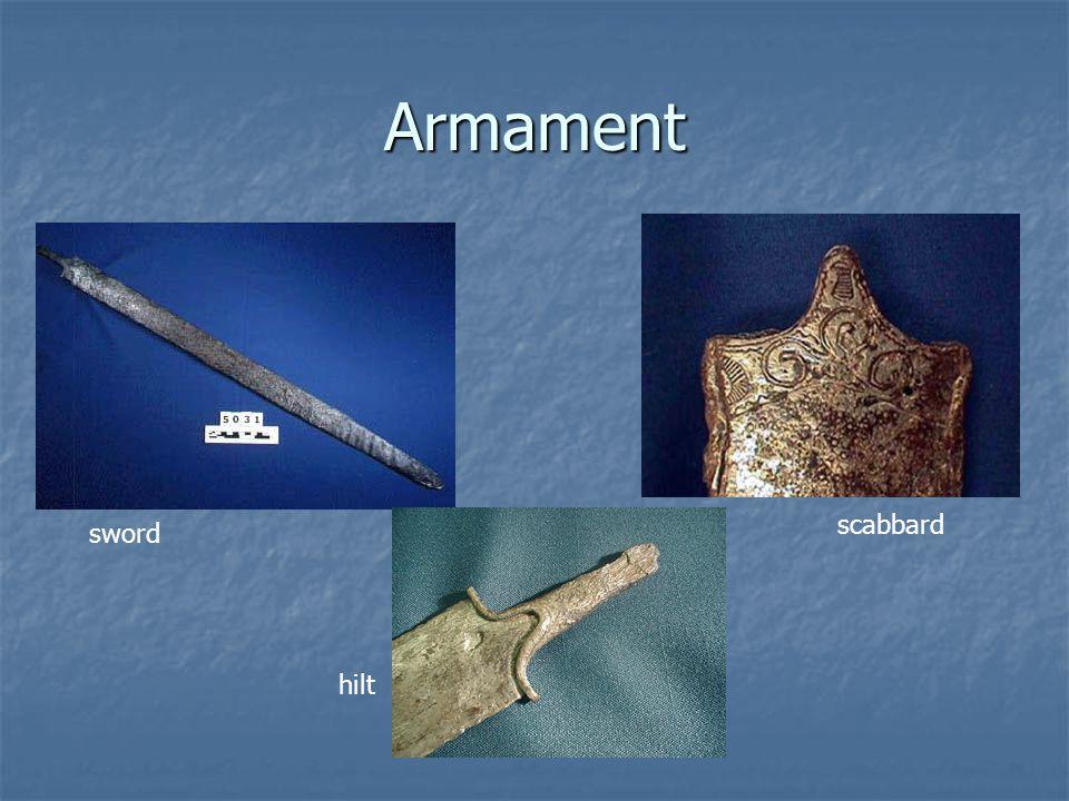 Armament sword scabbard hilt