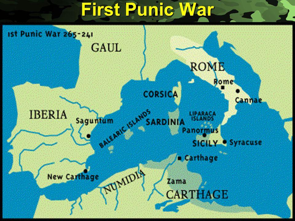 Slide 9 First Punic War