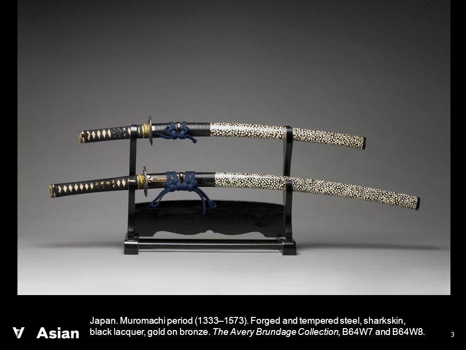 3 Japan. Muromachi period (1333–1573).