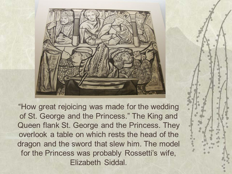 How great rejoicing was made for the wedding of St.
